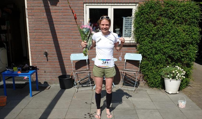 Prijsuitreiking Doris, Corona Marathon
