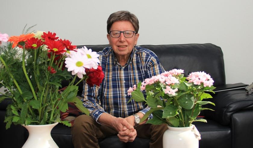 """Joop Hendriks: """"Er worden veel initiatieven ontwikkeld voor ouderen en in het dorp heerst een bepaalde saamhorigheid. Dat voelt heel goed."""""""