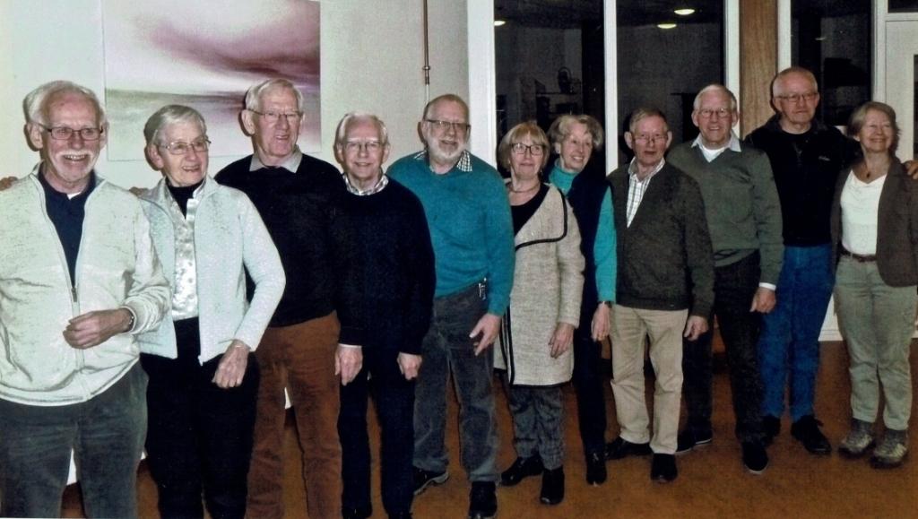 Alle zussen en broers van de familie Heesakkers. Op 27 april 'bereiken' ze samen de leeftijd van 850 jaar.  © DPG Media