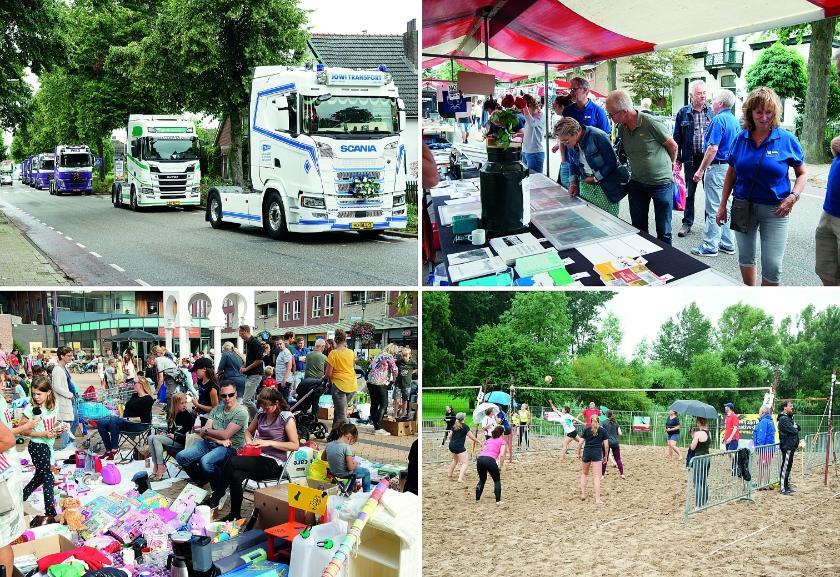 Impressies van 'Westervoort in Beweging' vorig jaar.