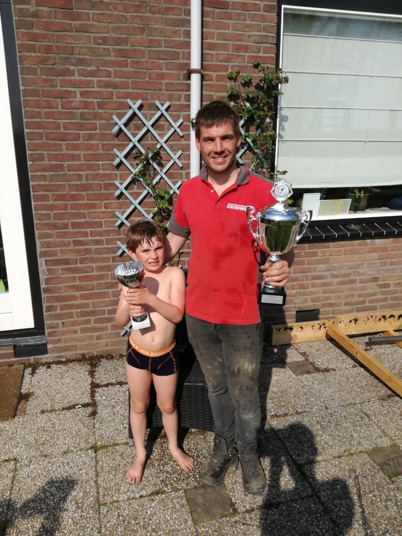 Thijmen en Willem v.d. Hoek Foto:  © DPG Media