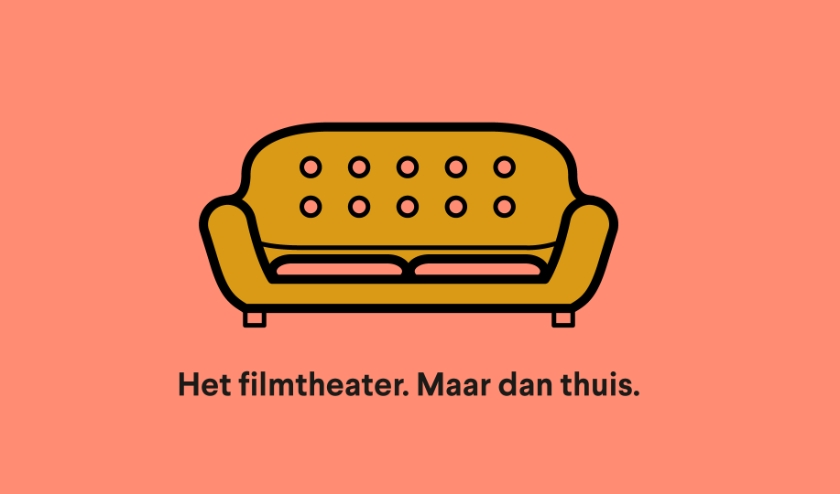 Vanaf nu kun je de filmhuisfilms gewoon bij jou thuis op de bank bekijken. (afbeelding: PR)