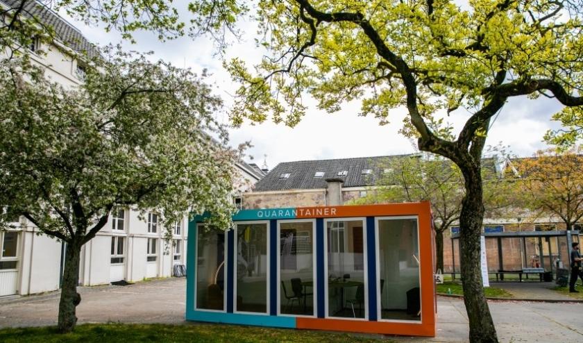 De eerste Quarantainer is geplaatst bij kliniek Mariënburg van ggz-organisatie Altrecht in Utrecht.