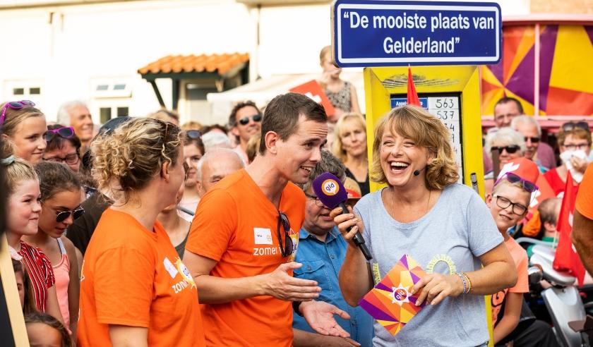 Angelique Krüger tijdens 'Zomer in Gelderland' in 2019.