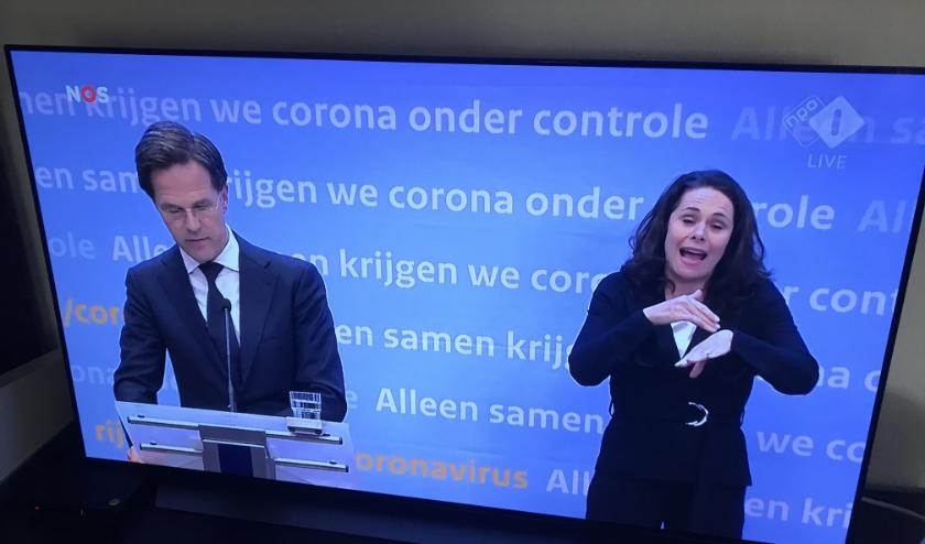 Premier Rutte heeft het gedicht opgestuurd gekregen van dominee W. van Herwijnen. (Foto: Annemarie de Vries)