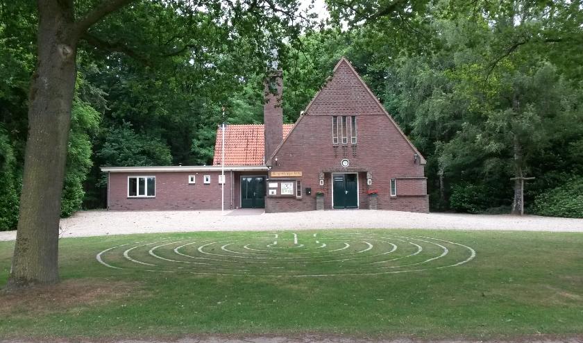 Labyrint voor Slangenburgse kerk