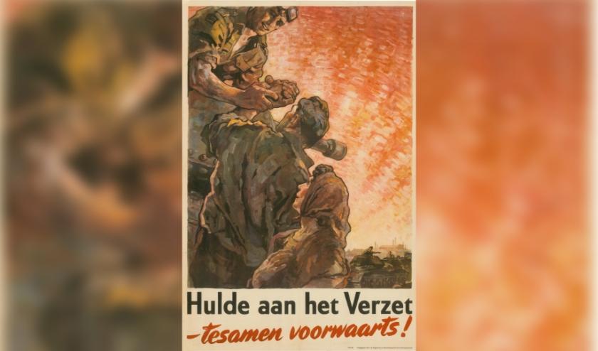 Het online plaatsen van archiefmateriaal begint het Regionaal Archief Tilburg met een collectie affiches zoals deze.