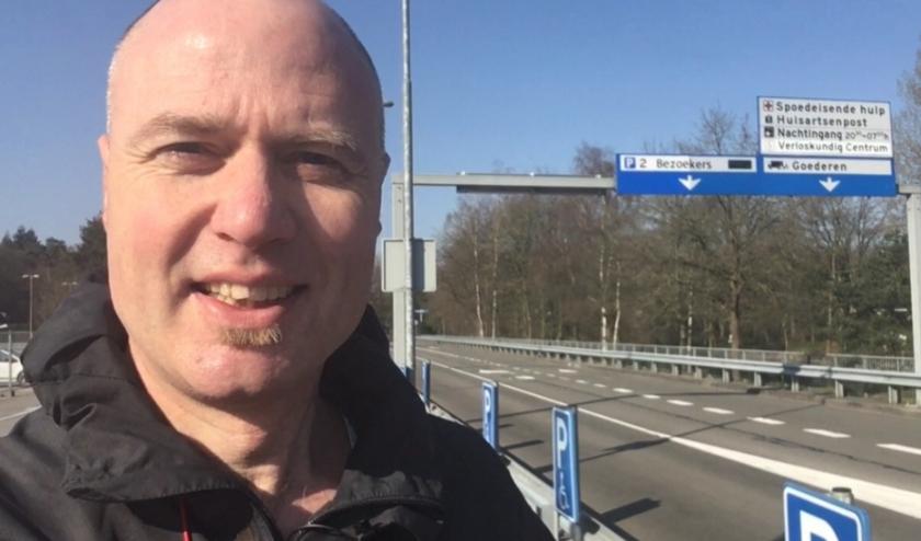 Initiatiefnemer Jaap Herforth, mannencoach