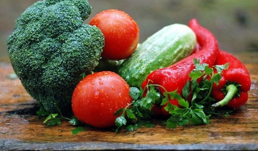 Verse groente.