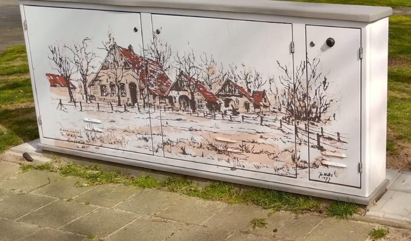 Boerderij 't Wegink  aan de W.  Royaardstraat.
