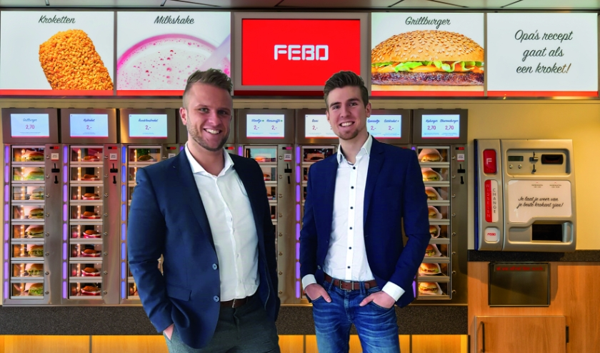 Olivier en Frederik Olijslagers.