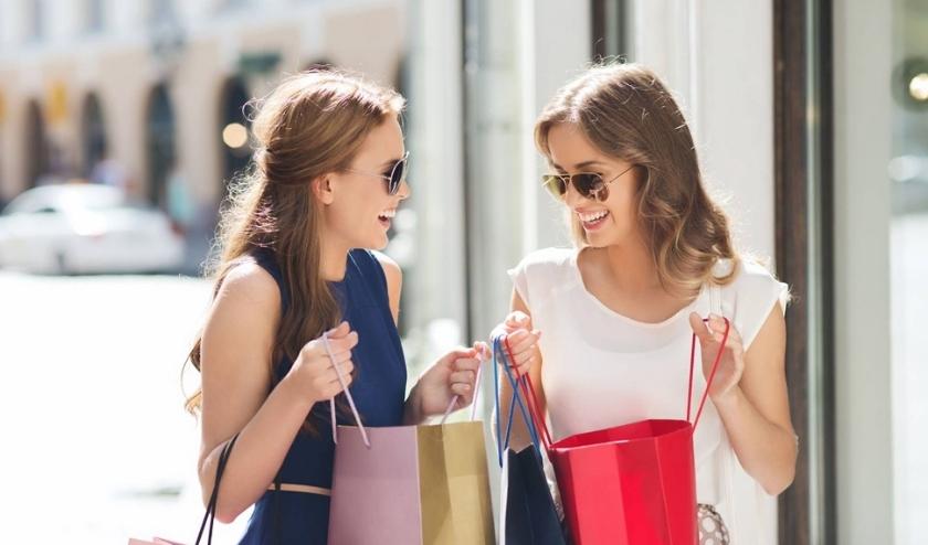 Gezellig shoppen