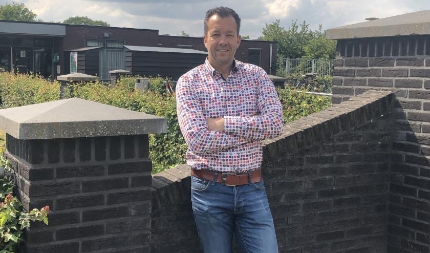 """Michel van Sluijs: """"Sport en bewegen in verenigingsverband met hulp van vrijwilligers moet voor iedereen toegankelijk en betaalbaar blijven."""" (Foto: CDA Wierden-Enter)"""