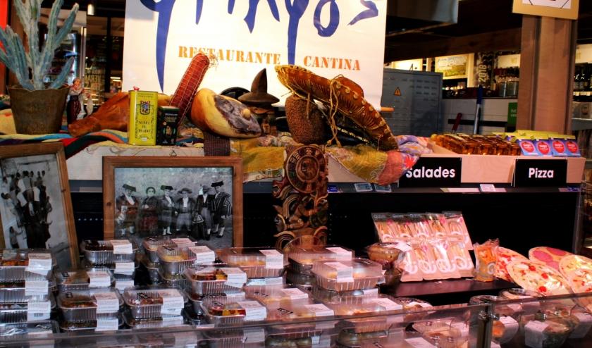 Het koelvak in de PLUS Supermarkt met de producten van Restaurant Gringo's.
