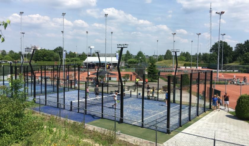 Tennis- en padelclub Metzpoint ligt in het sportpark aan de Peter Zuidlaan in Veldhoven. FOTO: TPC Metzpoint.