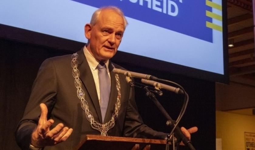 Burgemeester Cor Lamers.