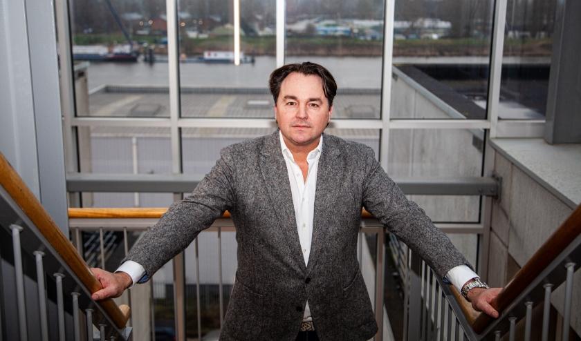 Hans Plesman helpt andere ondernemers met de voorbereiding op het 'nieuwe werken'. EIGEN FOTO