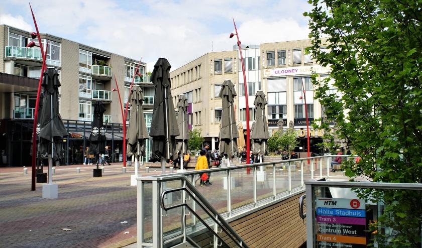 Het Stadshart zal voorzien worden van speciale looproutes, oversteekplaatsen en rotondes om de groeiende stroom consumenten in goede banen te leiden. Foto: Robbert Roos