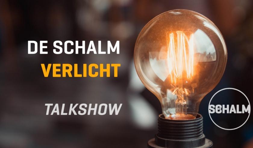 Met 'De Schalm Verlicht' biedt het theater een beetje verlichting in deze vreemde tijd. FOTO: De Schalm.