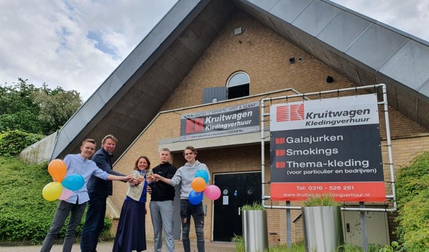 Monique Kruitwagen is sinds 1 mei de eigenaar van het markante pand waar voorheen de Wip-inn was gevestigd. (foto: PR)