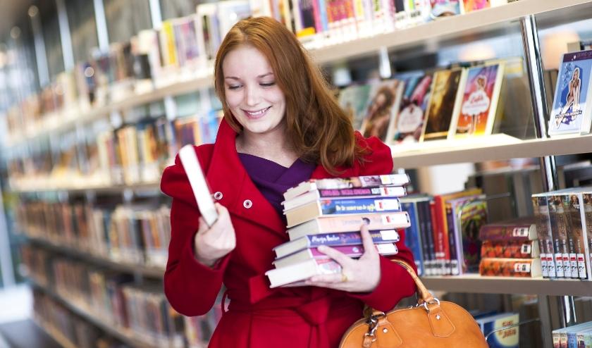 Je bent weer welkom om zelf je boeken uit te zoeken