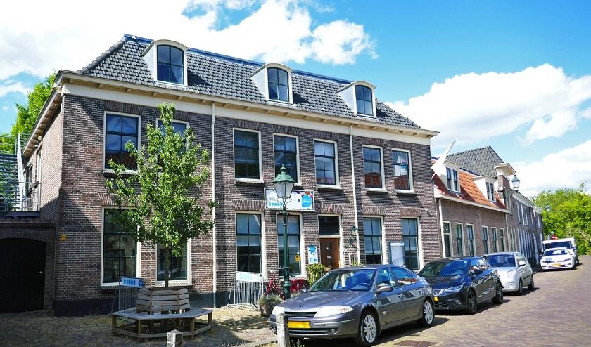 Abrona onderzoekt tevens de mogelijkheden om het monumentale pand in de Oudewaterse binnenstad  te verkopen.