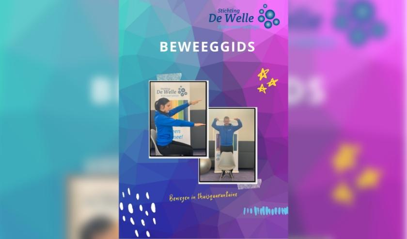 In de beweeggids staan allerlei spierversterkende-, coördinatie- en conditieoefeningen. (Foto: Stichting De Welle)
