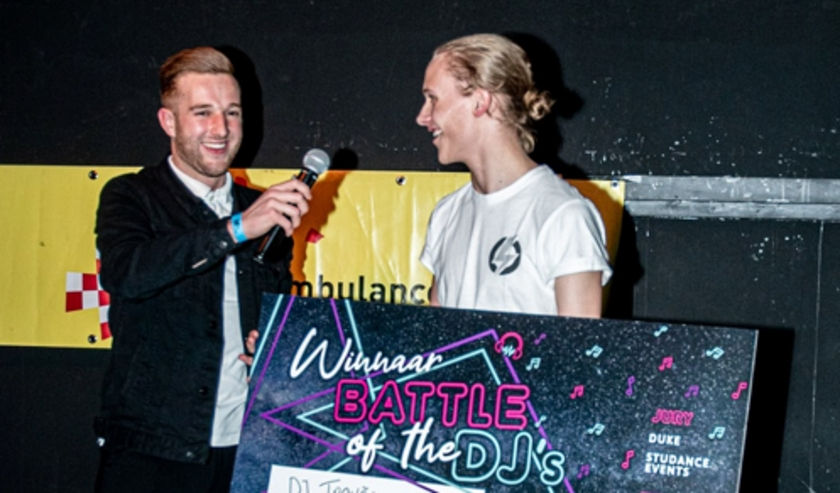 Winnaar The Battle of the DJ's Den Bosch 2019 DJ Trovao.