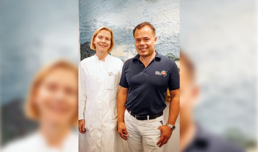 Dr. Schmickler en Dr. Cartsburg, (Foto: Beeldrecht Augen-Zentrum-Nordwest)