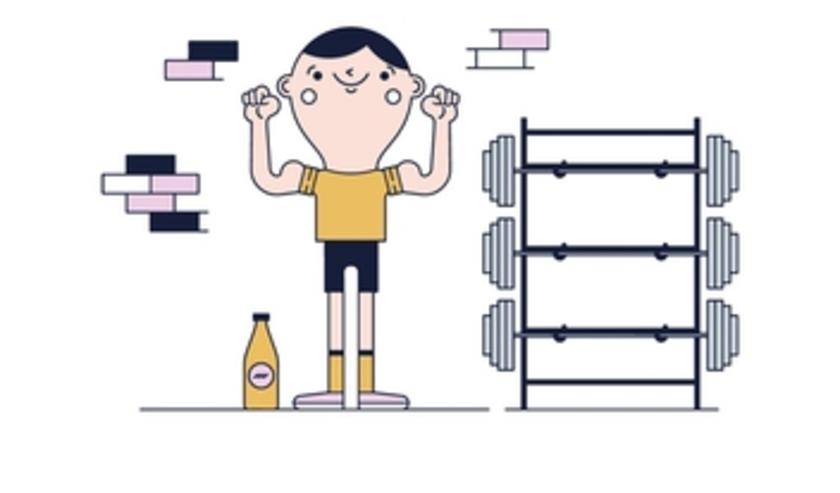 Per aflevering staat een oefening van 20 minuten centraal waarbij de kijker met simpele oefeningen fit kan blijven. FOTO: FreePic.