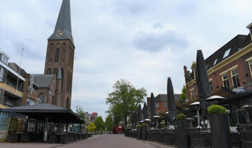 Nog even aftellen... maar op 1 juni om 12.00 uur gaat de Hengelose horeca weer open. Mét de nodige voorwaarden. (Foto: Indebuurt.nl)