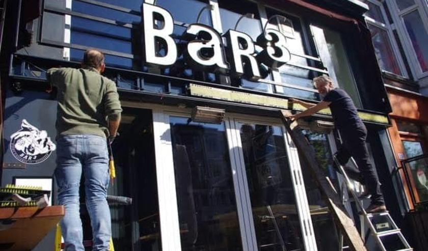 Helaas, Bar3 blijft gesloten.