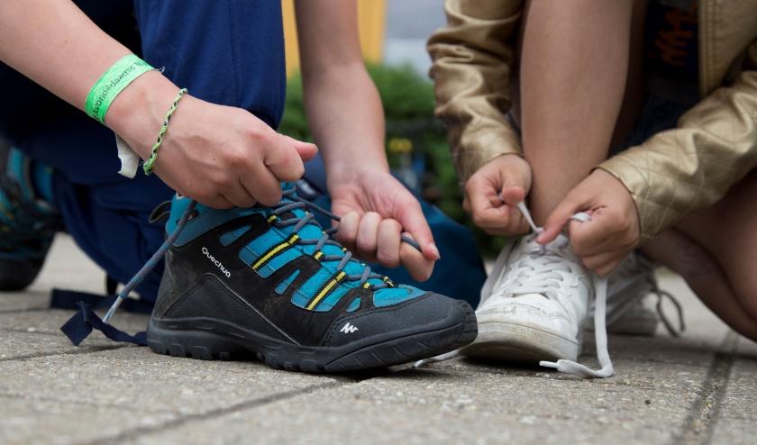 Met de Avond4daagse – Home Edition kunnen de kinderen overdag of 's avonds de routes lopen.
