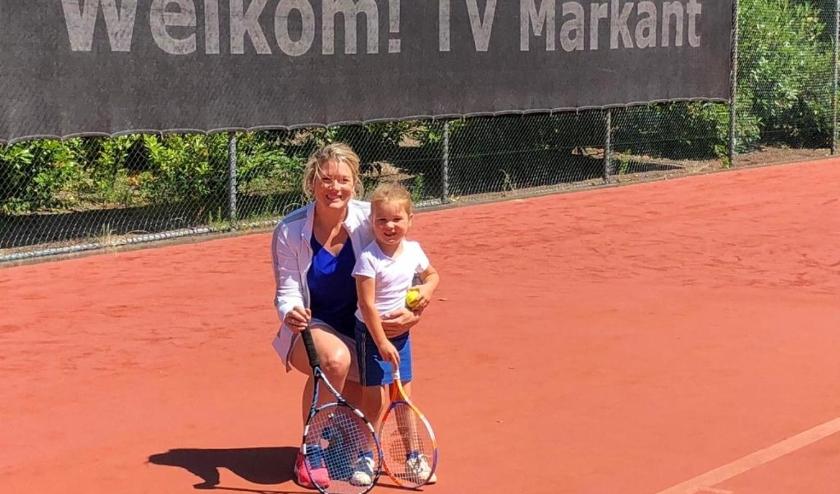 Samen tennissen met je ouder/verzorger