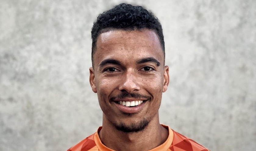 Dominique Zwiep hoopt na een estafette record U23 liefst al voor Tokyo geselecteerd te worden voor de Oranje senioren. (Foto: Ramsey Angela)