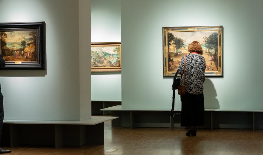 De werken van Lucas Gassel bezichtigen kan weer vanaf Tweede Pinksterdag.