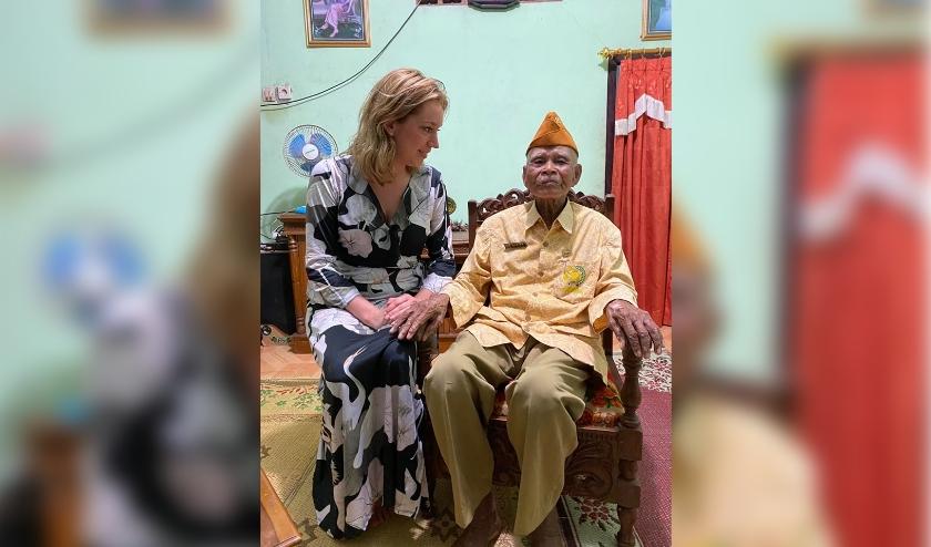 Hanneke samen kon op Java enkele oude mensen interviewen die betrokken waren bij de schermutselingen van de Zwarte Panters en de onafhankelijkheidsstrijders.