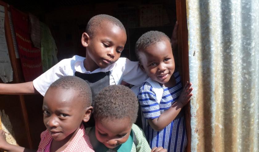 kinderen van het Shammah Centrum
