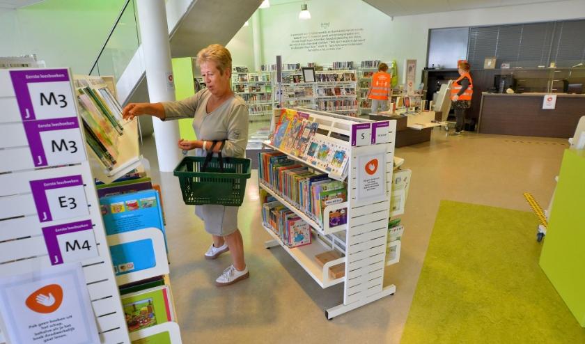 De bibliotheken in Oudewater en Woerden gaan weer open.