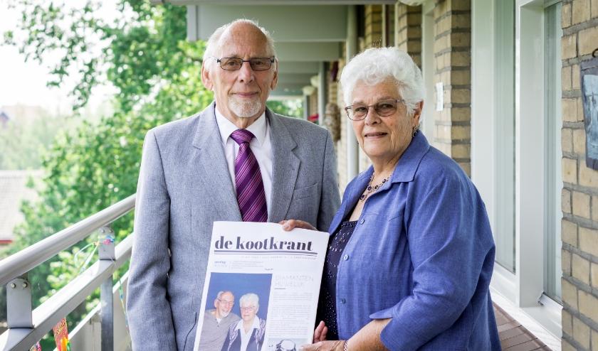 Piet en Wil Koot-Van der Ploeg hebben tweemaal de krant gehaald. Hun 60-jarig huwelijk mag er dan ook zijn. Namens de Goudse Post van harte gefeliciteerd!