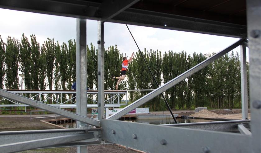 Verschillende innovaties moeten het mogelijk maken dat er ook Nederlandse records worden gesprongen in Polsbroekerdam. (Foto: Amanda van de Geer)