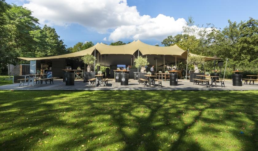 Te Werve Buiten is er klaar voor om haar gasten te ontvangen in het nieuwe pop-up BBQ-restaurant.