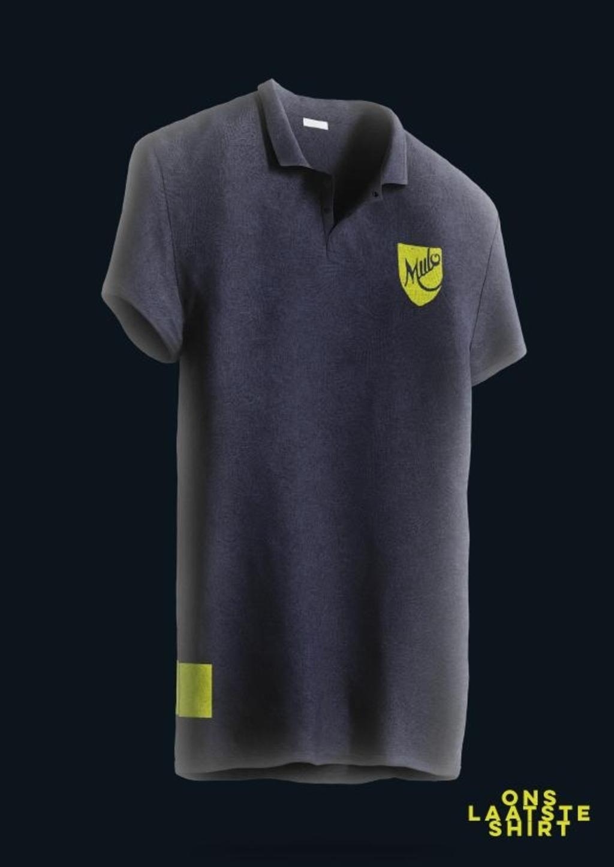 'Ons laatste shirt' van RKSV Mulo.