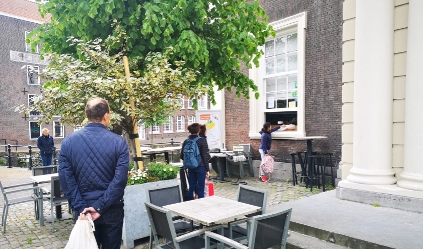 De Bibliotheek Schiedam organiseerde afgelopen weken een afhaalservice.