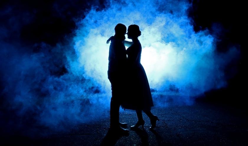 De winnende foto met bruidspaar Geert en Anita. (Foto: Gerbert Voortman)