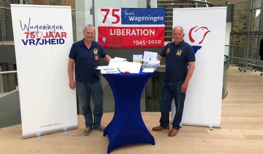 Frans Ammerlaan (links) en Roger Beets van de Market Garden Foundation (eigen foto)