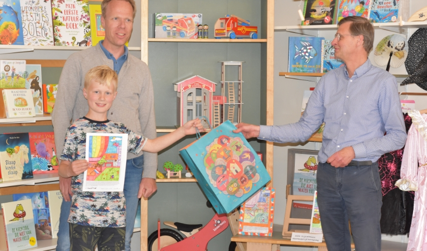 Daniël Kok is de winnaar in de categorie 8 en 9 jaar. (foto: Jan-Piet Zijp)