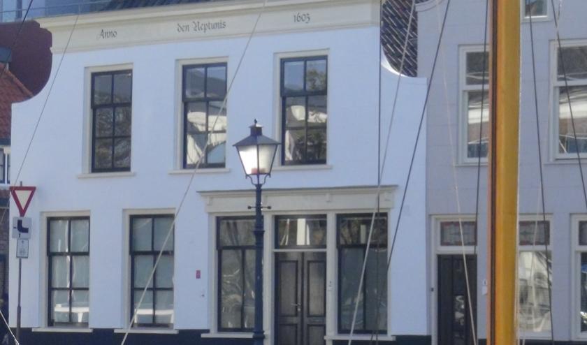 voorgevel Galerie Goese Kade