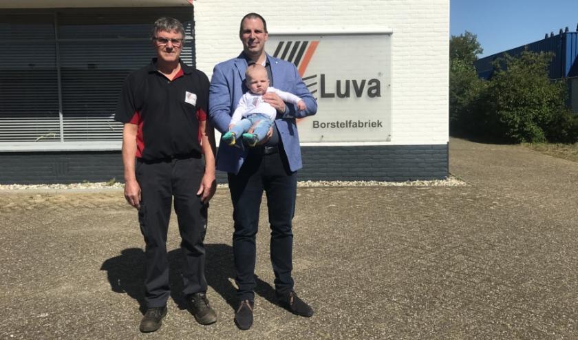 Drie generaties van familiebedrijf Luva.