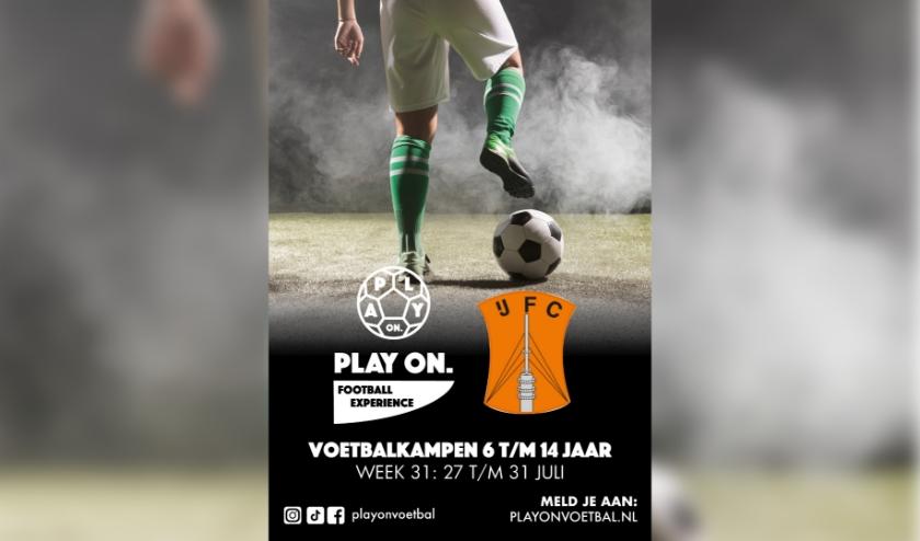 In de regio Utrecht vinden de voetbalkampen plaats bij IJFC. Eigen foto
